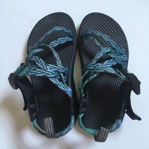 Chaco ZX/1 Ecotread turquoise Sandals